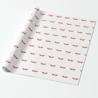 Marine Aviation Spouses Club Logo Wrapping Paper