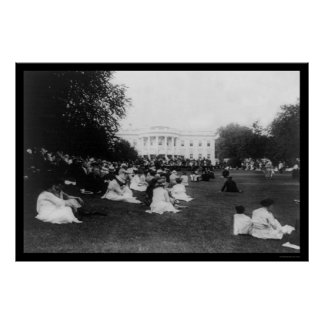 Marine Band Concert at the White House 1921 Poster