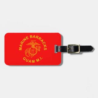 Marine Barracks Guam Logo Luggage Tag