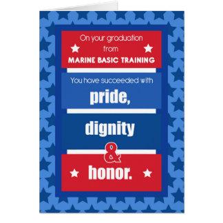Marine Basic Training Graduation Congratulations R Card