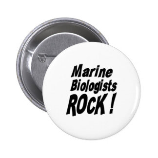 Marine Biologists Rock! Button