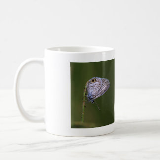 Marine Blue on a green stick Coffee Mug