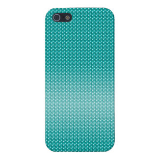 Marine Blue Pearls Case Case For The iPhone 5