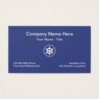 Marine Boating Theme Business Card