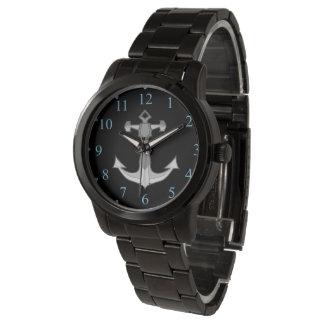 marine bracelet anchor watch