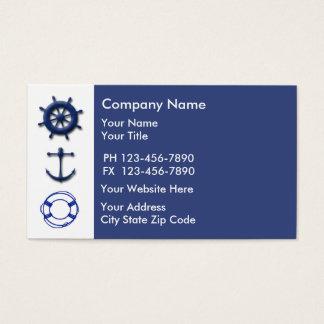 Marine Business Card