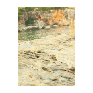 marine collection. Greece. Kefalonia Canvas Print