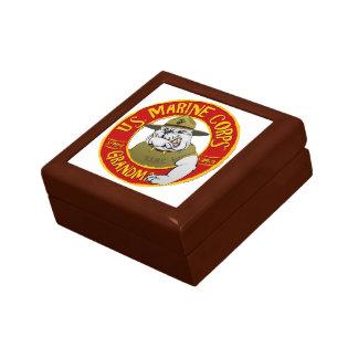 Marine Corp Grandma Jewelry Box