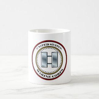 Marine Corps Capt Captain 0-3 Coffee Mug