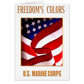 Marine Corps Greeting Card