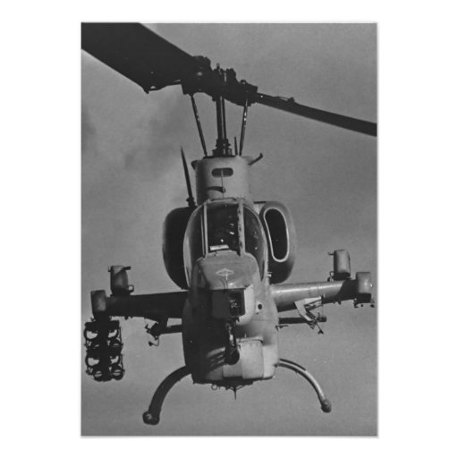 Marine Corps Helicopter Poster