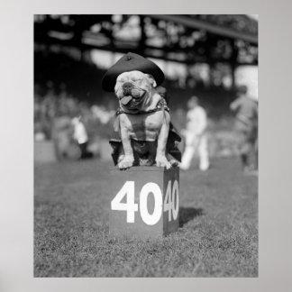 Marine Corps Mascot Jiggs: 1923 Poster