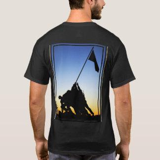 Marine Corps War Memorial Men's Black T-Shirt