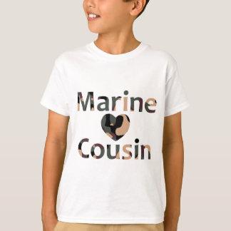 Marine Cousin Heart Camo T-Shirt