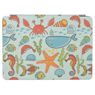 Marine Creature Pattern iPad Air Cover