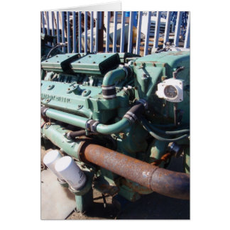 Marine Diesel Engine Card