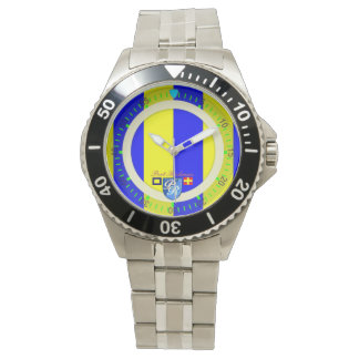Marine Flag Letter G Golf Port Richman Nautical Wristwatch