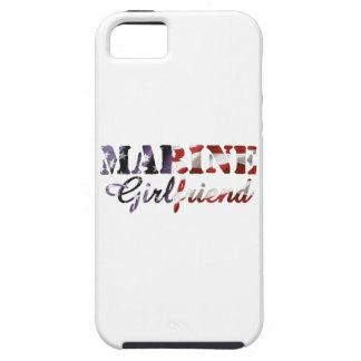 Marine Girlfriend American Flag iPhone 5 Covers