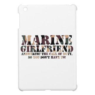 Marine Girlfriend Answering Call iPad Mini Case