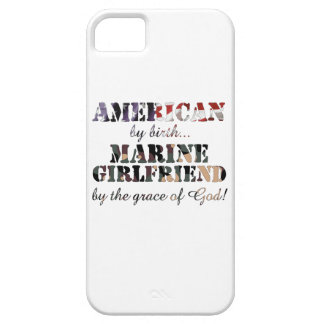 Marine Girlfriend Grace of God iPhone 5 Case