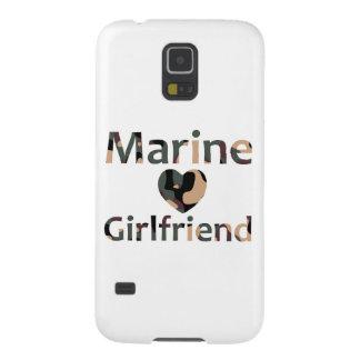 Marine Girlfriend Heart Camo Galaxy S5 Case