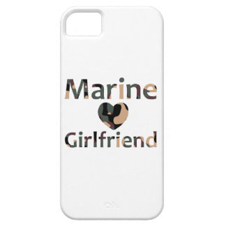 Marine Girlfriend Heart Camo Case For The iPhone 5
