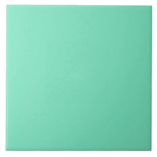 Marine Green Blue Aqua Turquoise 2015 Color Trend Tile