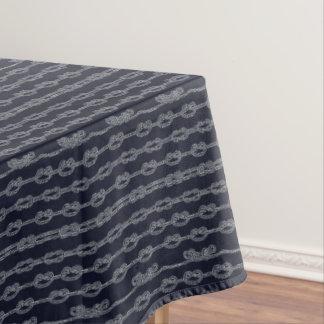 Marine Knots Pattern Tablecloth