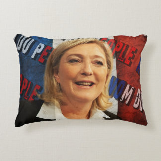 Marine Le Pen Accent Pillow