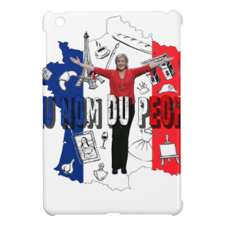 Marine Le Pen iPad Mini Cases