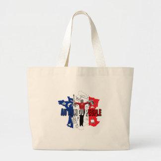 Marine Le Pen Large Tote Bag