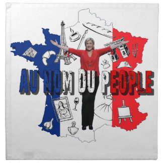 Marine Le Pen Napkin