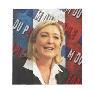 Marine Le Pen Notepad