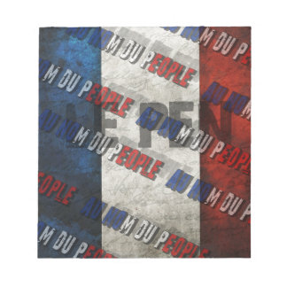 Marine Le Pen Notepad