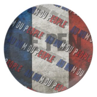 Marine Le Pen Plate