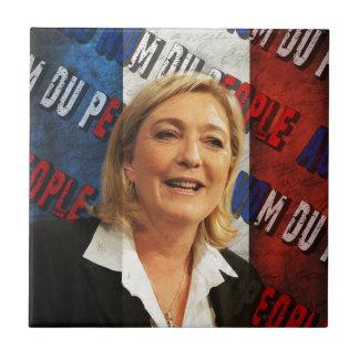 Marine Le Pen Tile