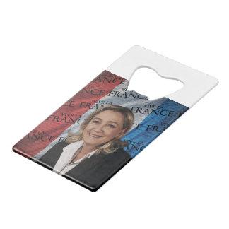 Marine Le Pen Wallet Bottle Opener