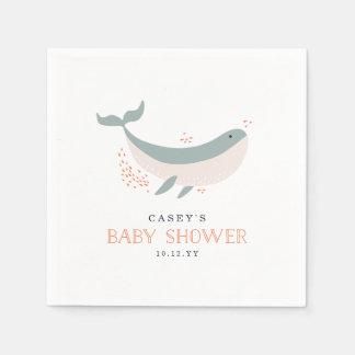Marine Life Baby Shower Paper Napkins