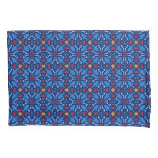 Marine life blue navy pattern pillowcase