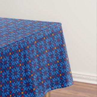 Marine life blue navy pattern tablecloth
