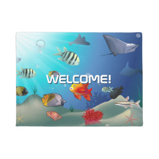 Marine Life Doormat
