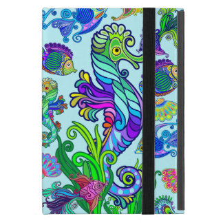 Marine Life Exotic Fishes & SeaHorses Case For iPad Mini
