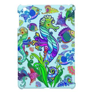 Marine Life Exotic Fishes & SeaHorses iPad Mini Cover