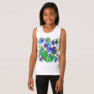 Marine Life Exotic Fishes & SeaHorses Tank Top