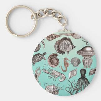 Marine Life Keychain