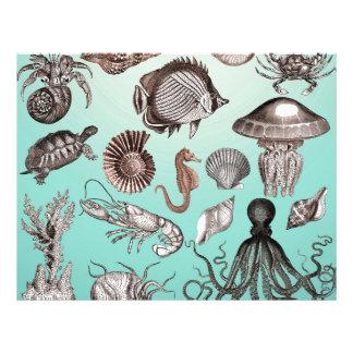 Marine Life Letterhead