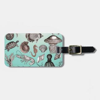 Marine Life Luggage Tag
