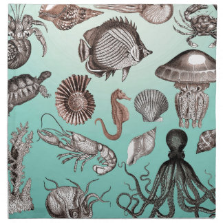 Marine Life Napkin