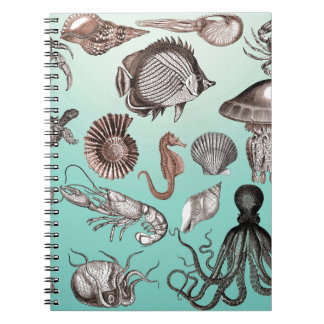 Marine Life Notebook