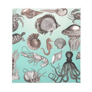 Marine Life Notepad